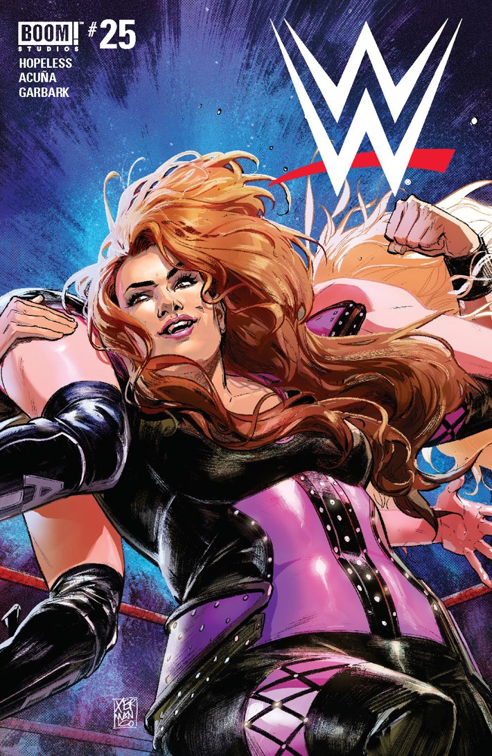 WWE_025_C_Preorder ComicList Previews: WWE #25