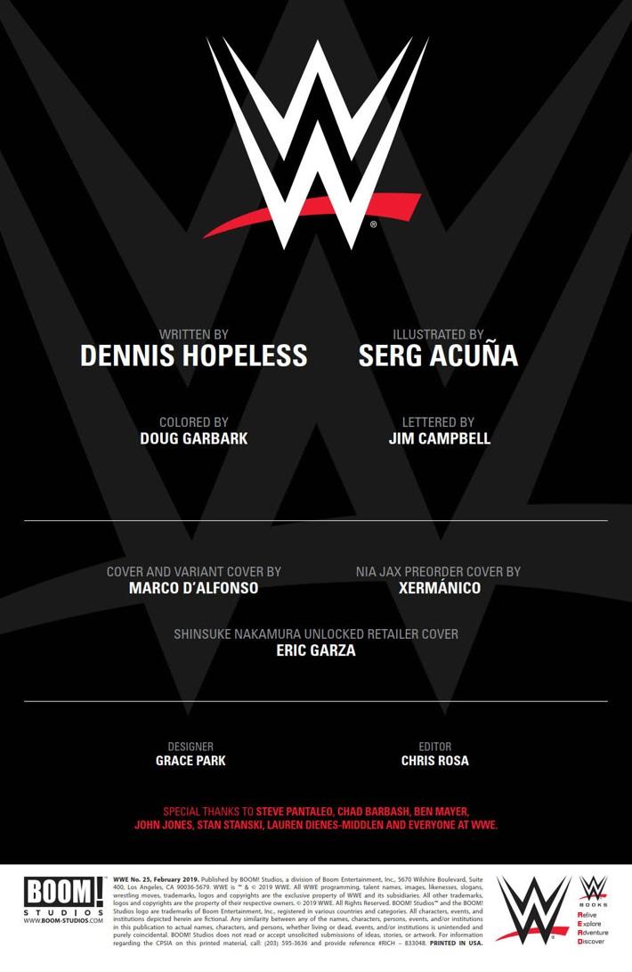 WWE_025_PRESS_2 ComicList Previews: WWE #25