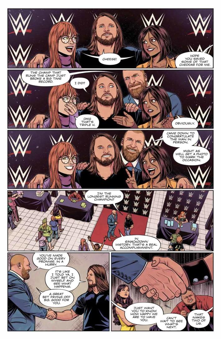 WWE_025_PRESS_3 ComicList Previews: WWE #25