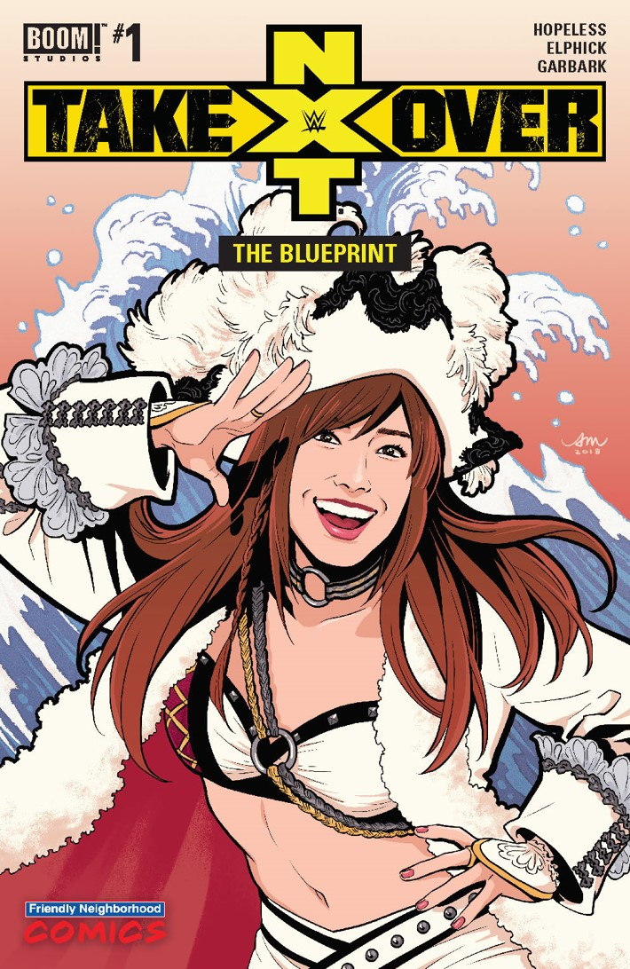 WWE_NXT_001_Blueprint_C_Variant_001 ComicList Previews: WWE NXT TAKEOVER THE BLUEPRINT #1