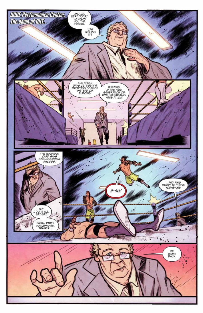 WWE_NXT_001_Blueprint_PRESS_4 ComicList Previews: WWE NXT TAKEOVER THE BLUEPRINT #1