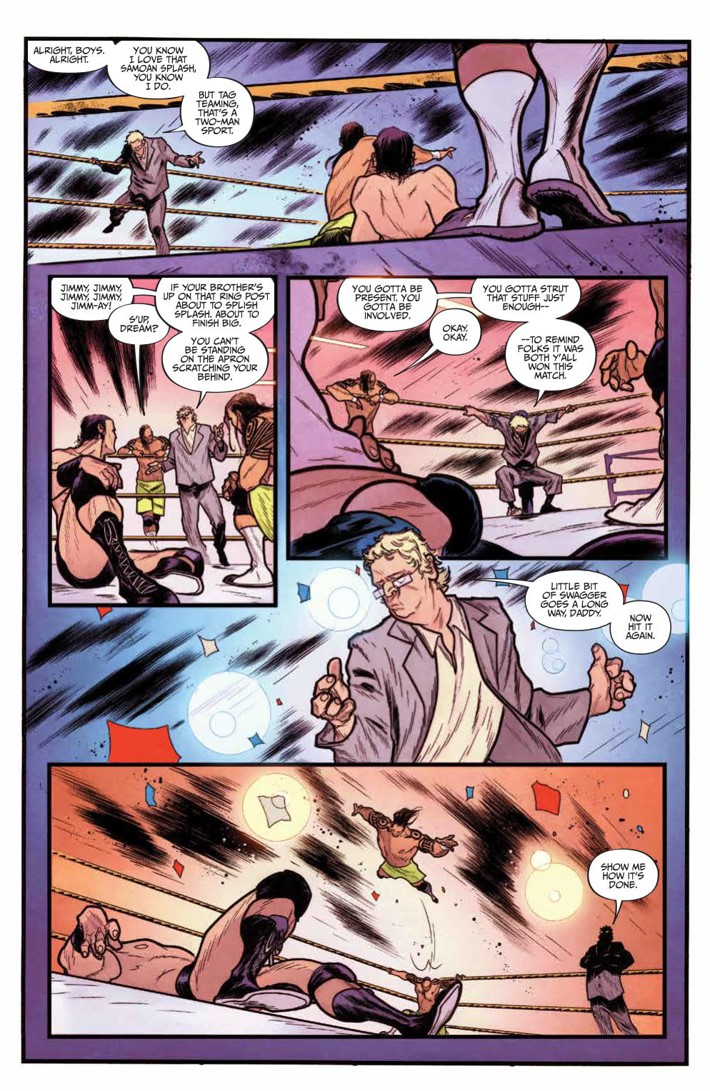 WWE_NXT_001_Blueprint_PRESS_5 ComicList Previews: WWE NXT TAKEOVER THE BLUEPRINT #1