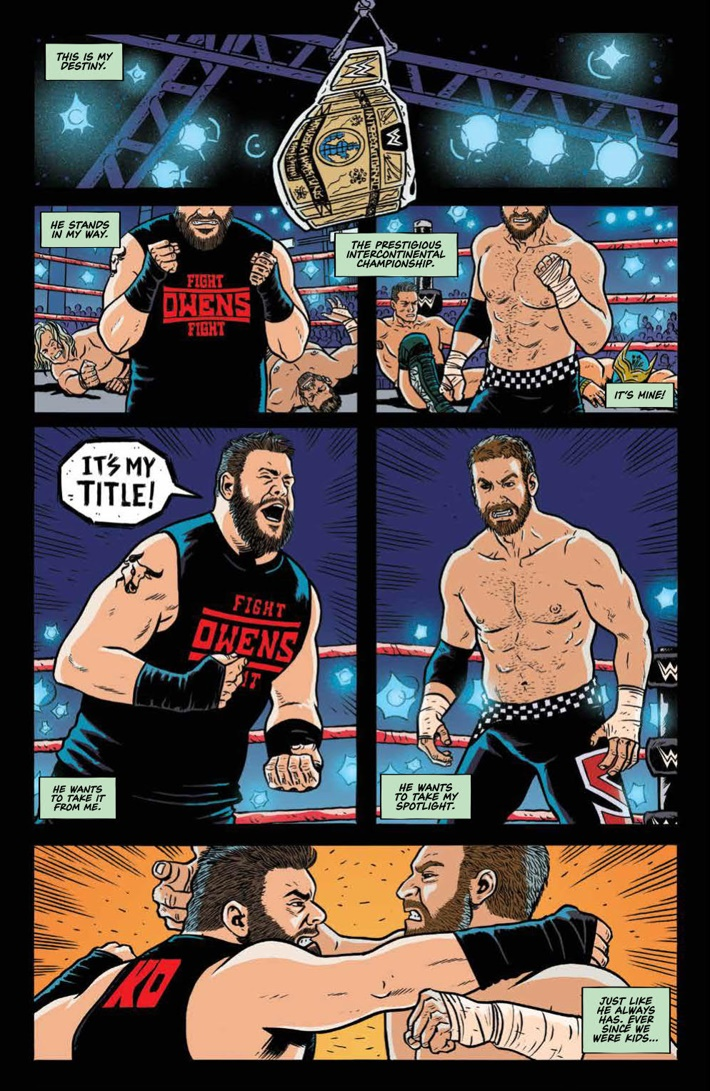 WWE_ThenNowForever_v1_PRESS_48 ComicList Previews: WWE THEN NOW FOREVER VOLUME 1 TP