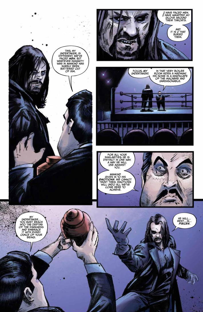 WWE_ThenNowForever_v1_PRESS_76 ComicList Previews: WWE THEN NOW FOREVER VOLUME 1 TP