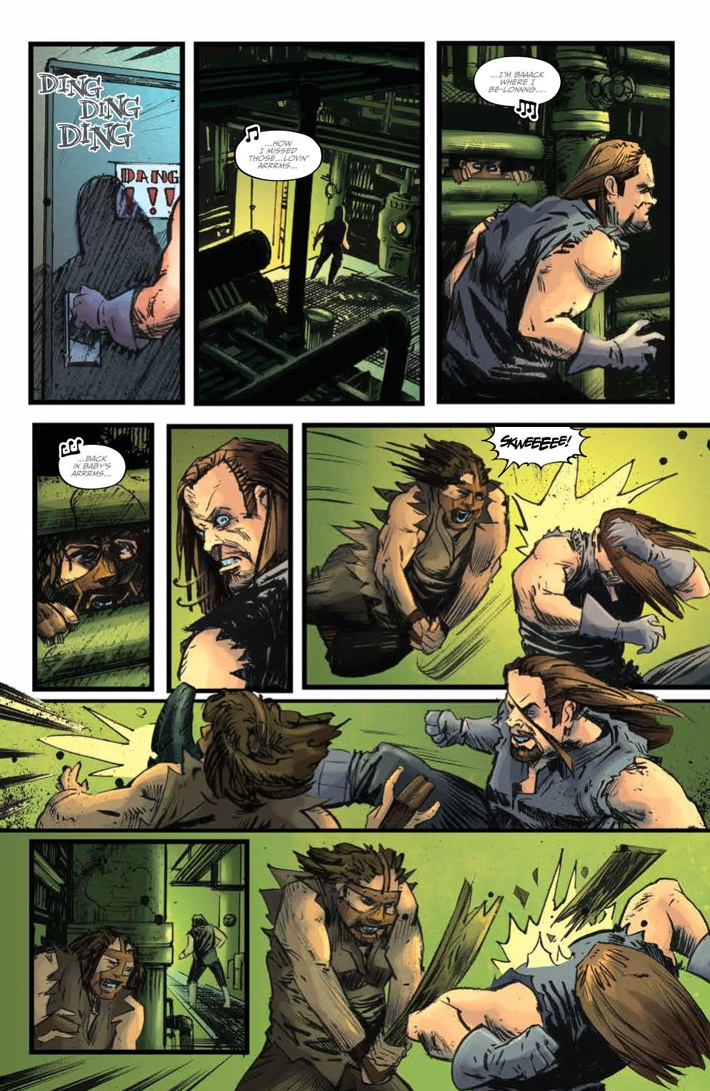 WWE_ThenNowForever_v1_PRESS_77 ComicList Previews: WWE THEN NOW FOREVER VOLUME 1 TP