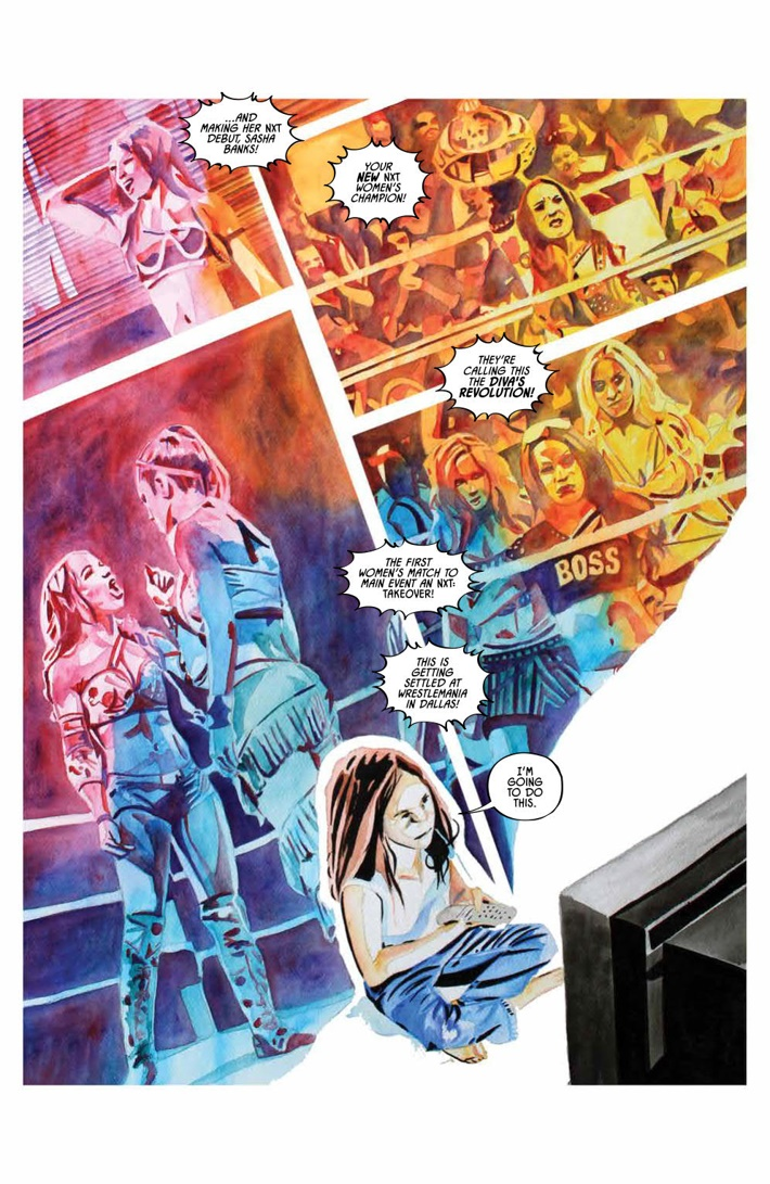 WWE_ThenNowForever_v1_PRESS_9 ComicList Previews: WWE THEN NOW FOREVER VOLUME 1 TP