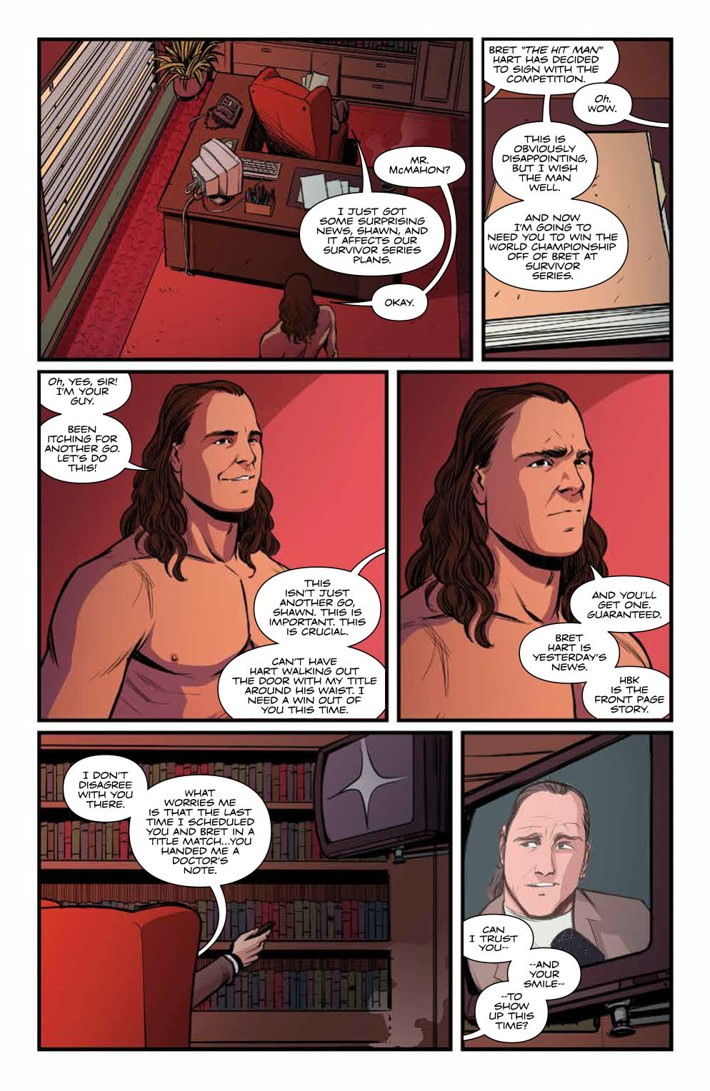 WWE_ThenNowForever_v2_SC_PRESS_11 ComicList Previews: WWE THEN NOW FOREVER VOLUME 2 TP