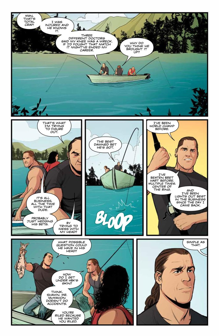 WWE_ThenNowForever_v2_SC_PRESS_12 ComicList Previews: WWE THEN NOW FOREVER VOLUME 2 TP