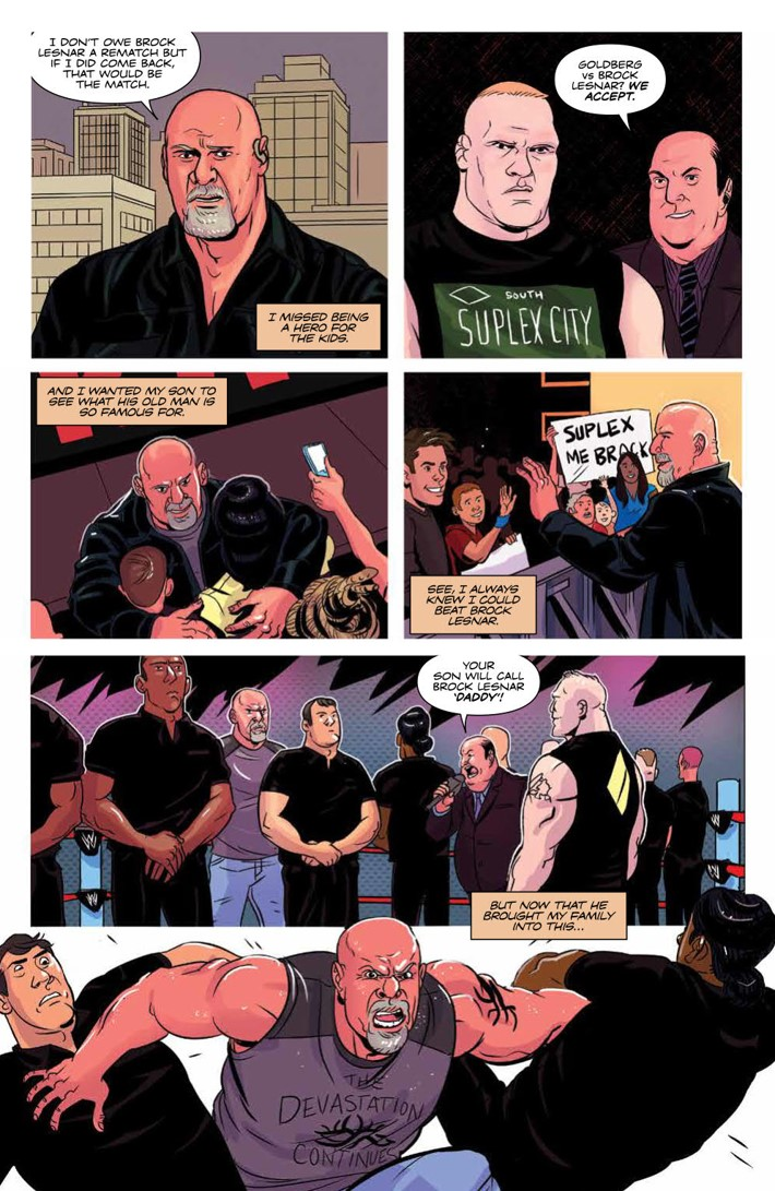 WWE_ThenNowForever_v2_SC_PRESS_33 ComicList Previews: WWE THEN NOW FOREVER VOLUME 2 TP
