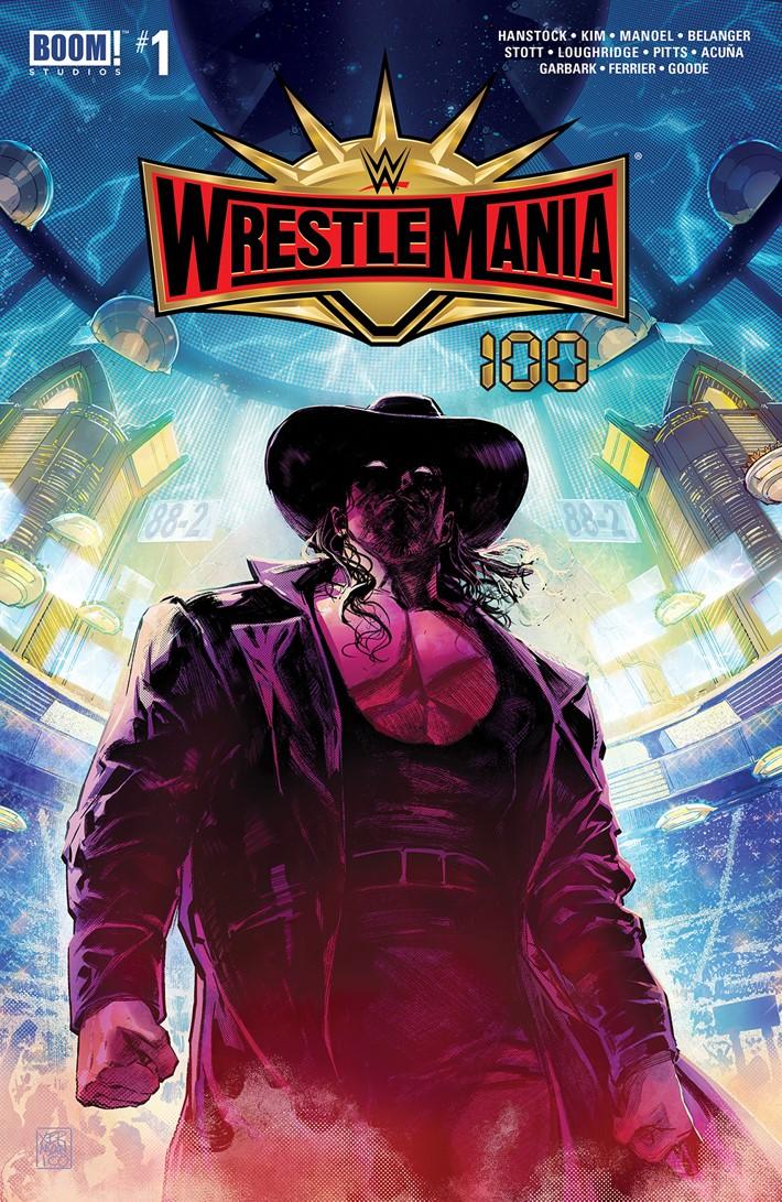 WWE_Wrestlemania_2019_Cover_B_Preorder ComicList Previews: WWE WRESTLEMANIA 2019 SPECIAL #1