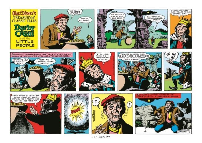 WaltDisney_Treasury_Classics_vol3-pr-4 ComicList Previews: WALT DISNEY'S TREASURY OF CLASSIC TALES VOLUME 3 HC