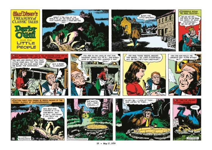 WaltDisney_Treasury_Classics_vol3-pr-5 ComicList Previews: WALT DISNEY'S TREASURY OF CLASSIC TALES VOLUME 3 HC
