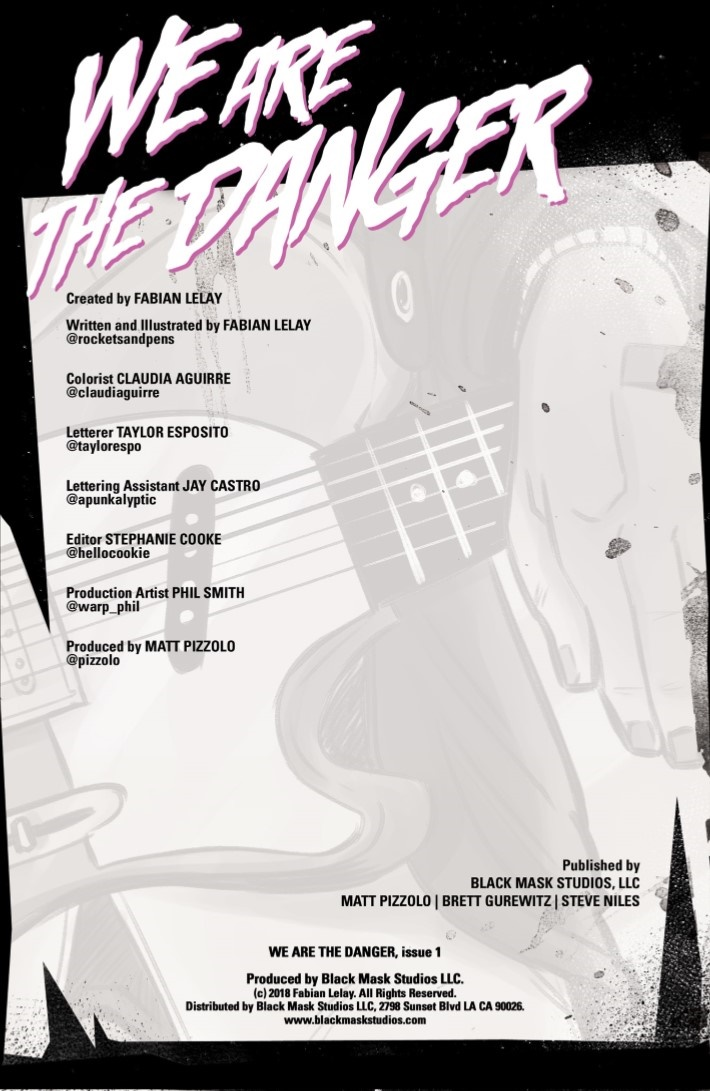WeAreTheDanger-01-02 ComicList Previews: WE ARE THE DANGER #1