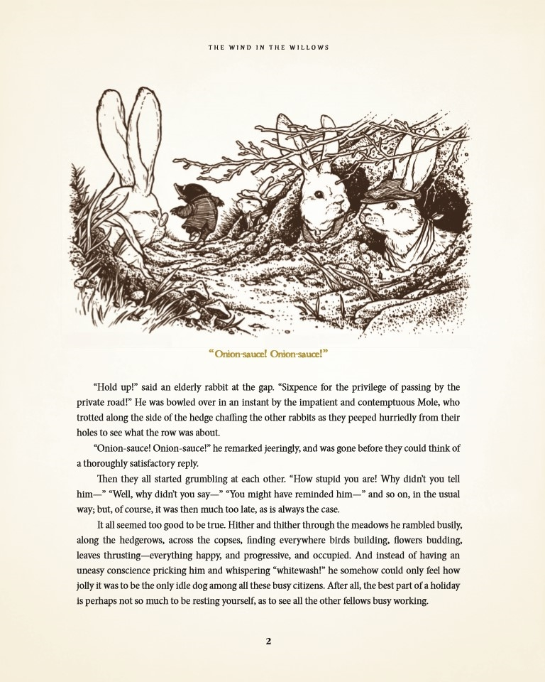 WitWillowsHC-pr-4 ComicList Preview: THE WIND IN THE WILLOWS HC