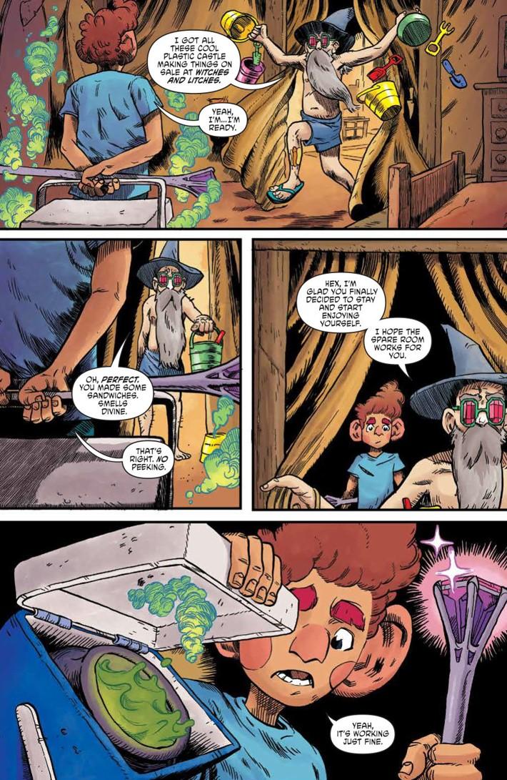 WizardBeach_004_PRESS_4 ComicList Previews: WIZARD BEACH #4