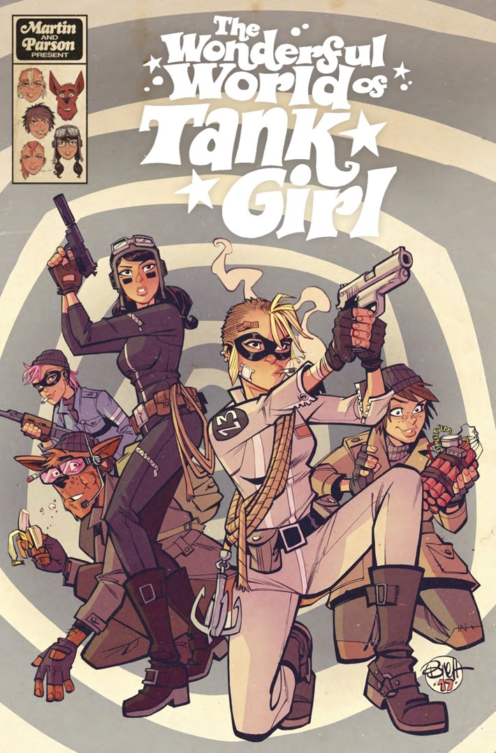 Wonderful_World_of_Tank_Girl_collection_cover ComicList Previews: THE WONDERFUL WORLD OF TANK GIRL TP