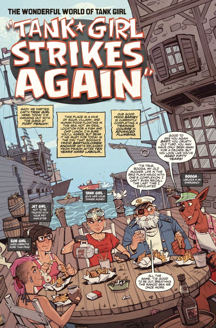 Wonderful_World_of_Tank_Girl_collection_pg1 ComicList Previews: THE WONDERFUL WORLD OF TANK GIRL TP
