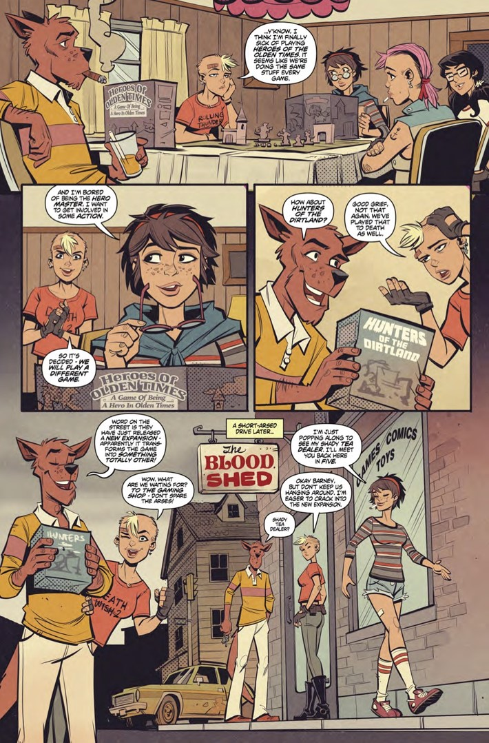 Wonderful_World_of_Tank_Girl_collection_pg5 ComicList Previews: THE WONDERFUL WORLD OF TANK GIRL TP