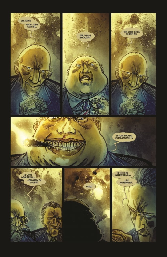 Wormwood_GoestoWash_HC-pr-6 ComicList Previews: WORMWOOD GENTLEMAN CORPSE MR WORMWOOD GOES TO WASHINGTON HC