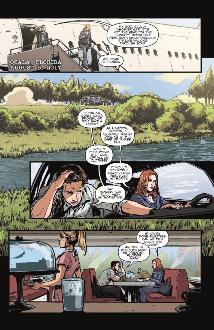 XFiles_CaseFiles_Florida_Man_01-pr-3 ComicList Previews: THE X-FILES CASE FILES FLORIDA MAN #1