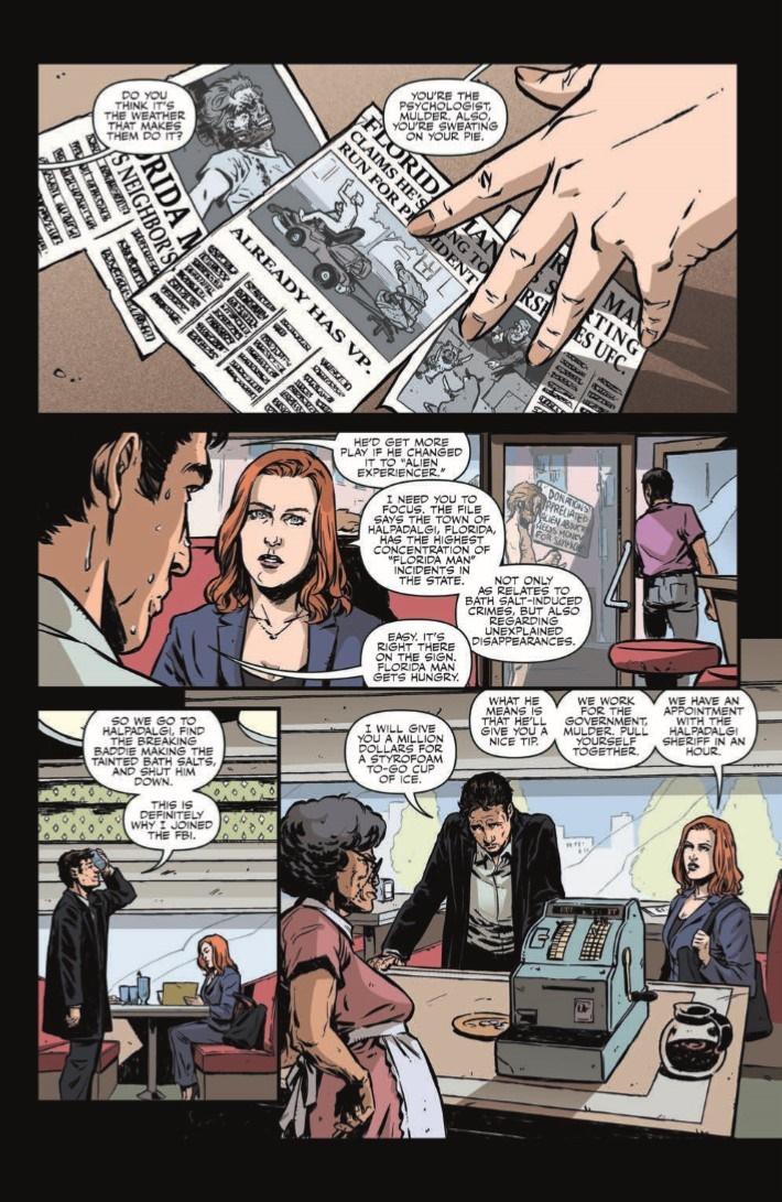 XFiles_CaseFiles_Florida_Man_01-pr-4 ComicList Previews: THE X-FILES CASE FILES FLORIDA MAN #1