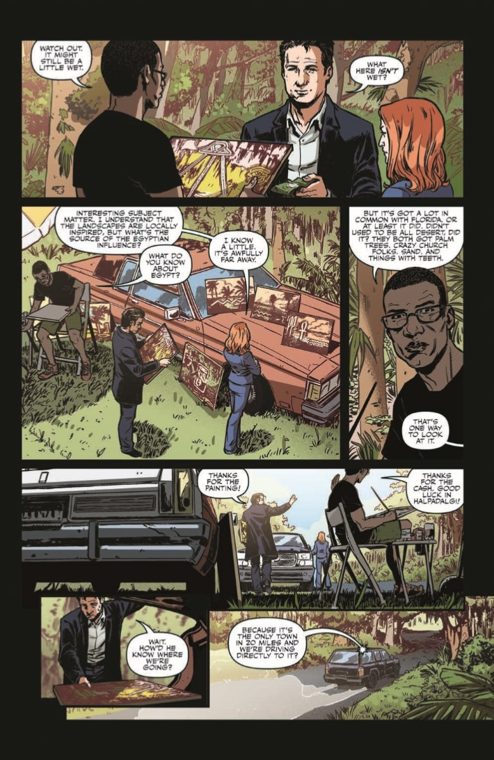 XFiles_CaseFiles_Florida_Man_01-pr-7 ComicList Previews: THE X-FILES CASE FILES FLORIDA MAN #1