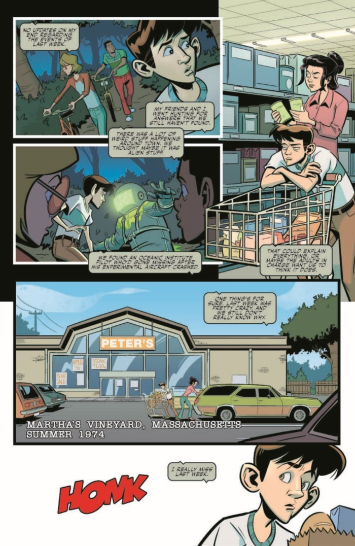 XFiles_Origins_v2-pr-4 ComicList Previews: THE X-FILES ORIGINS VOLUME 2 DOG DAYS OF SUMMER TP