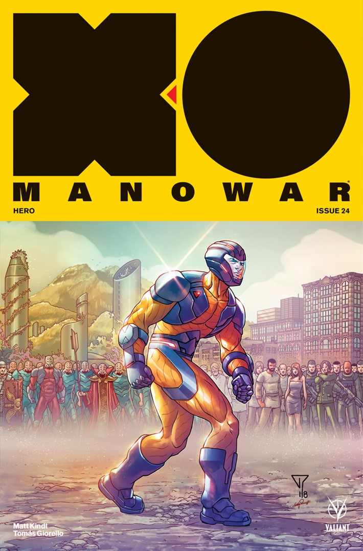 XO-Cover-D ComicList Previews: X-O MANOWAR #24