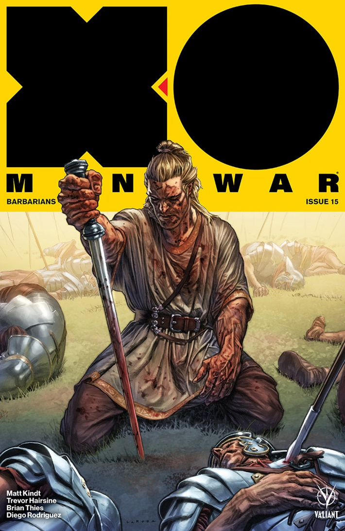 XO2017_015_COVER-A_LAROSA ComicList Previews: X-O MANOWAR (2017) #15