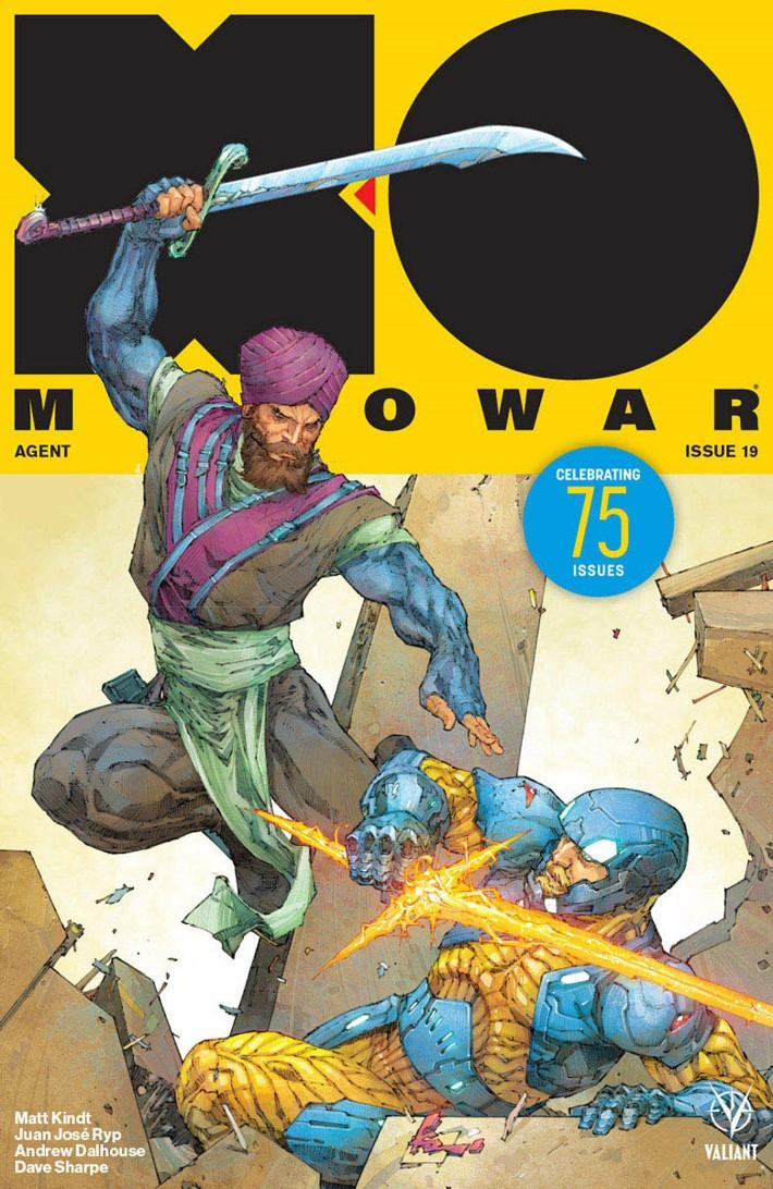 XO2017_019_COVER-A_ROCAFORT ComicList Previews: X-O MANOWAR #19