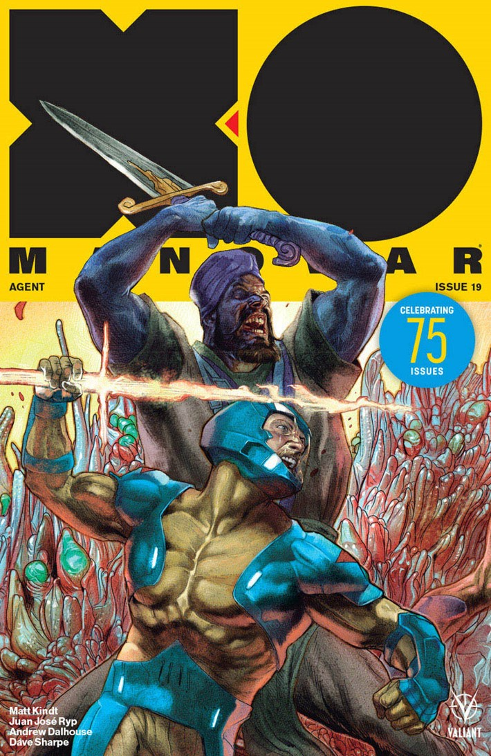 XO2017_019_VARIANT-INTERLOCKING_GUEDES ComicList Previews: X-O MANOWAR #19