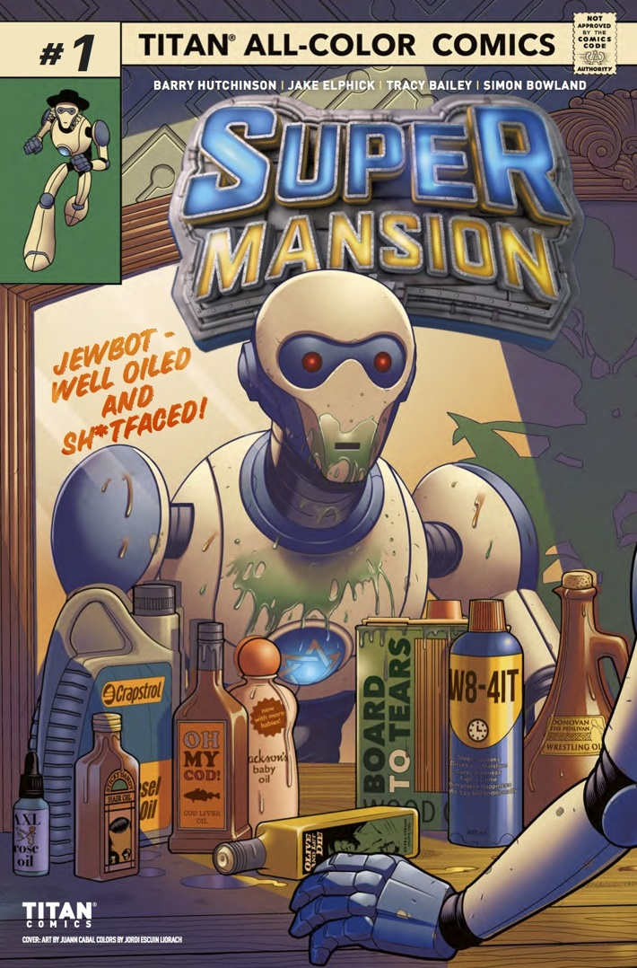 supermansion_1_CvrA ComicList Previews: SUPERMANSION #1