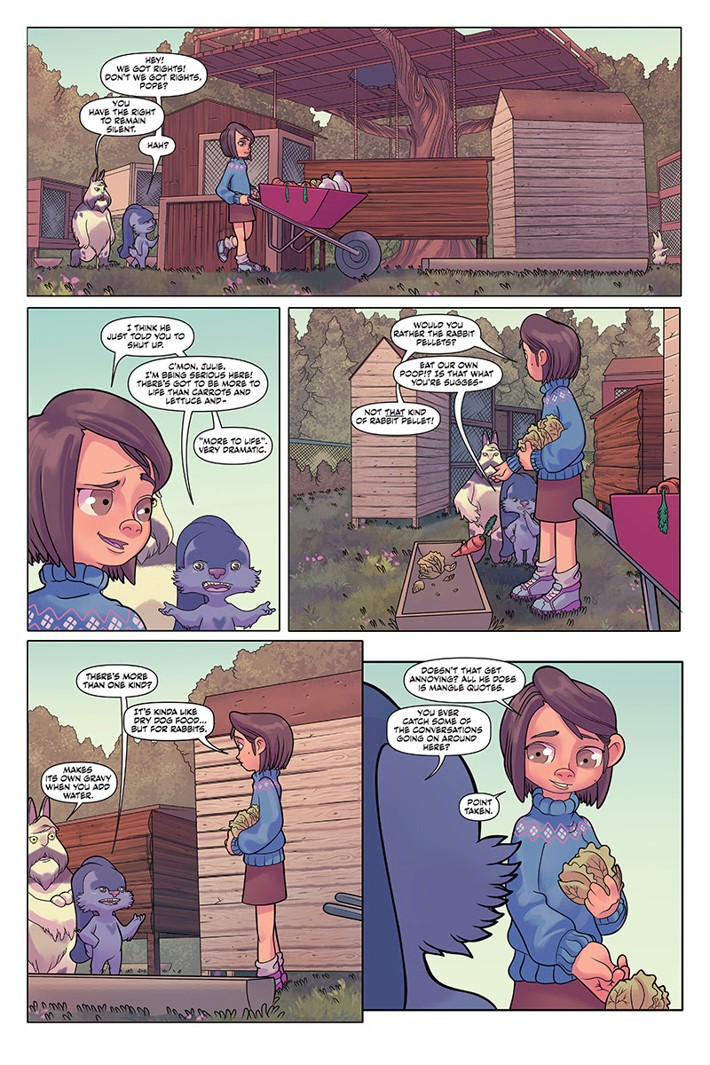 unnamed_(23) ComicList Previews: AUNTIE AGATHA'S HOME FOR WAYWARD RABBITS #1
