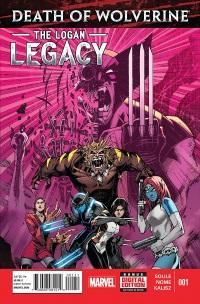 DEATHOFWOLVLL2014001-DC11-6f0de Geek Goggle Reviews: Death Of Wolverine The Logan Legacy #1