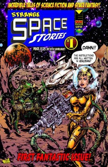 StrangeSpaceStories Suspended Animation: Strange Space Stories #1