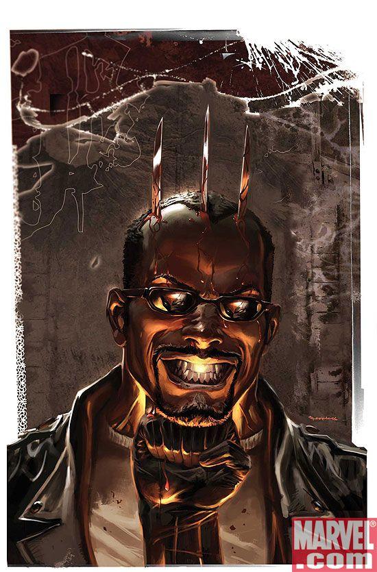 BLADE_5_COV MARVEL: Hyperion vs. Nighthawk, Mythos: Ghost Rider, and Blade