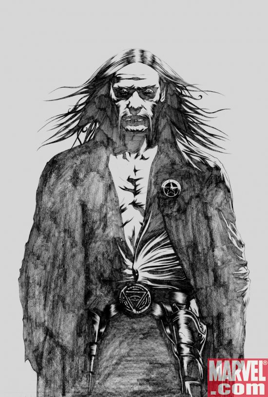 DT2Lee MARVEL: David Finch Dark Tower: Gunslinger Born #2 Variant Revealed
