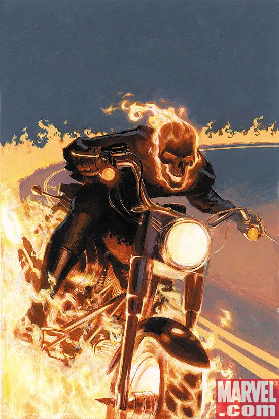 MYTHOSGR_COV MARVEL: Hyperion vs. Nighthawk, Mythos: Ghost Rider, and Blade