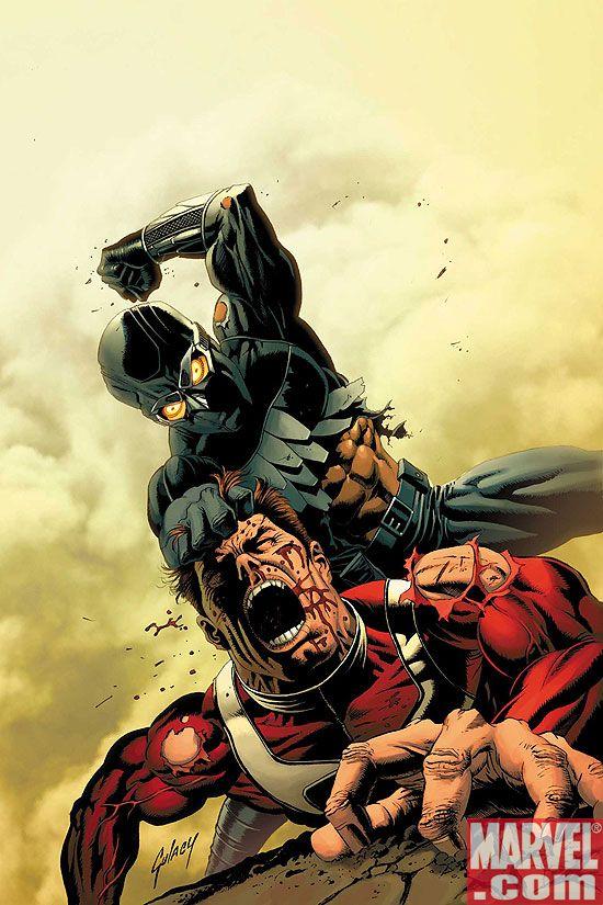 SSHVN_1_COV MARVEL: Hyperion vs. Nighthawk, Mythos: Ghost Rider, and Blade