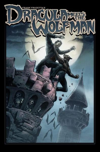 Dracula Meets Wolfman Cover B
