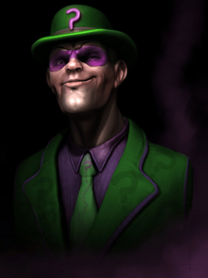 riddler fan art
