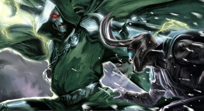 dr doom vs loki