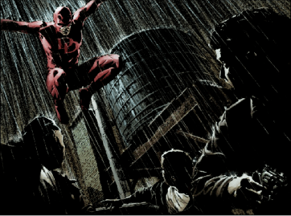 daredevil vs batman mm