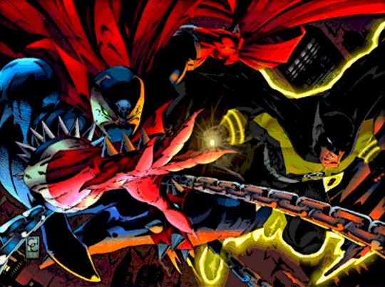 Spawn Vs Sinestro Corps Batman