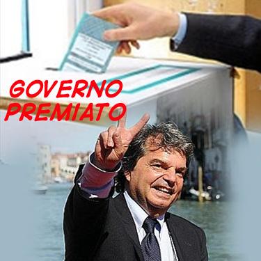 Governo Premiato Governo premiato, Ministri bocciati