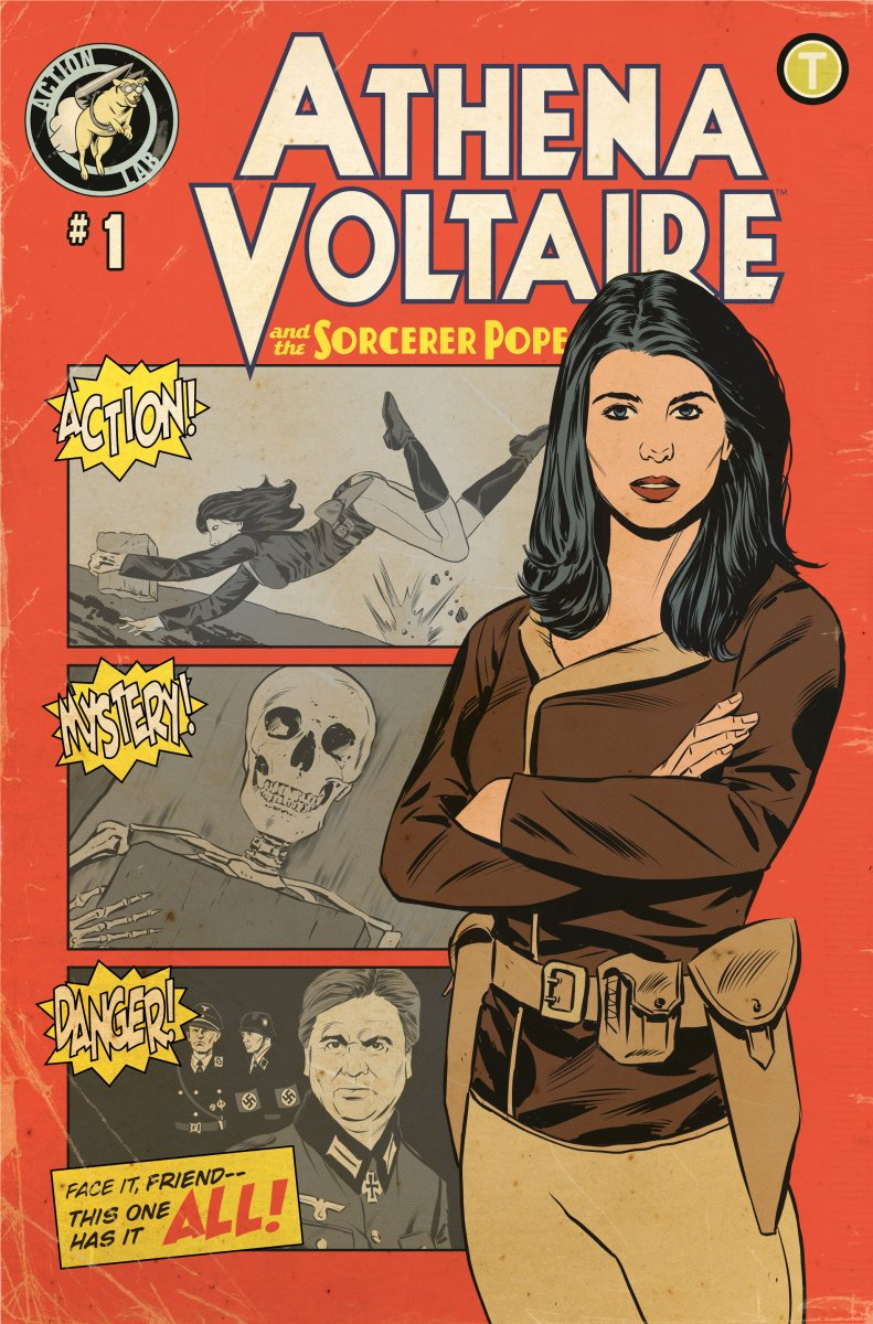Athena Voltaire Heads To Kickstarter And Will Be Published By Action Lab