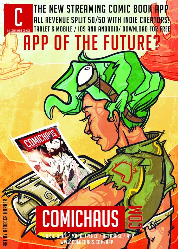 Exploring Comichaus' Indie Comics Streaming App – COMICON