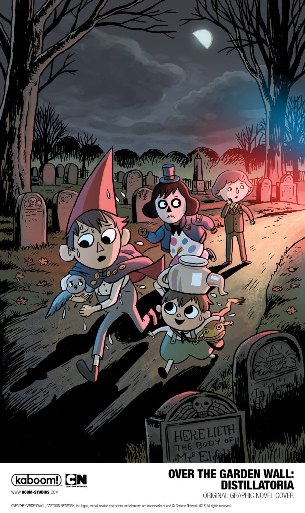 Wirt Greg And Beatrice Return In An Over The Garden Wall Ogn From Boom Studios Comicon