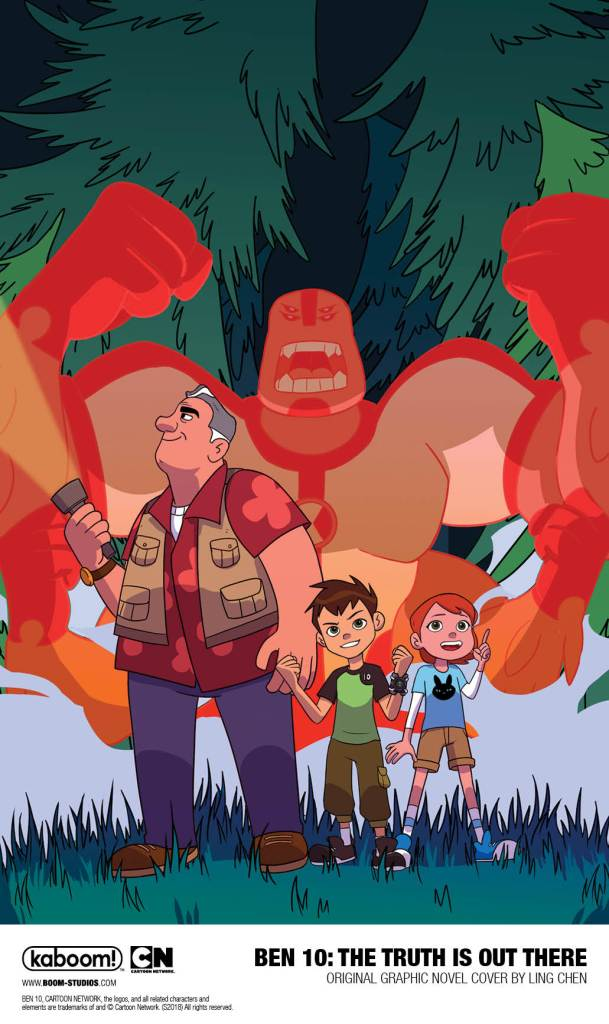 SDCC 2018: Boom! Launches Ben 10 Graphic Novel Program With