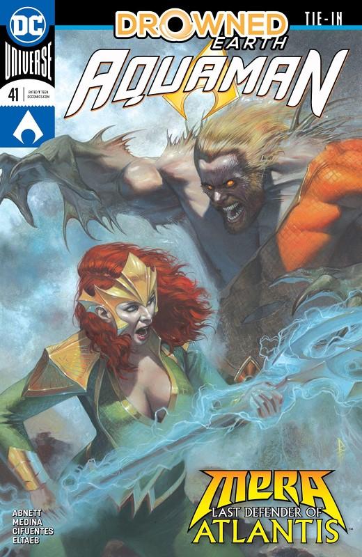Aquaman #41 cover by Riccardo Federici